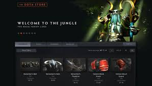 dota 2 getting in game dota store lets players buy customizations