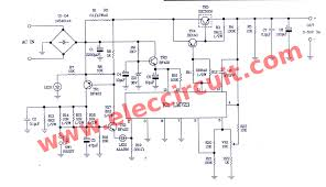 0 50v variable power supply circuit at 3a the circuit diagram of 0 50v 3a variable dc power supply