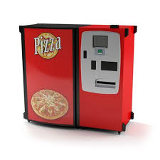 Vending Machine Pizza Maker Amazing Pizza Maker Machine 48D Model CGTrader