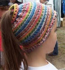 Ponytail Hat Knitting Pattern Awesome Mike's Messy Bun Hat