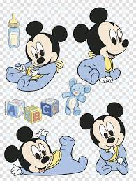 Mickey Y Minnie Bebes Festa Mickey Baby Mickey Mouse Mickey Baby, Doodle,  Drawing Transparent Png – Pngset.com