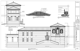 House Plans  Waterfront Hurricane Proof HousePreliminary house plans  front elevation