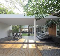 Contemporary Carport Design Modern Thai Home Inspiration