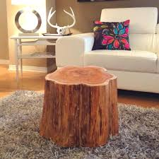 ... Tree Stump Side Table Diy Buy Trunk Coffee Uk ...