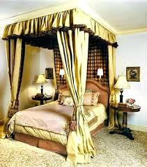 Outstanding Elegant Canopy Bed Curtains Decorating Sugar Cookies ...