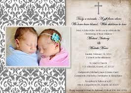Twin Baptism Invitations Twins Baptism Invites Rome Fontanacountryinn Com