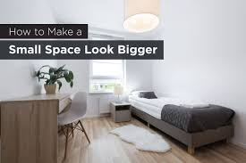 how to make a small space look bigger