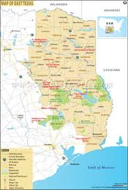 map of east texas east texas map