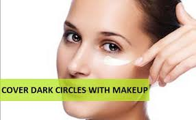 how to hide under eye dark circles with makeup