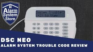 Dsc Alarm Yellow Triangle Light Is On Dsc Powerseries Neo Trouble Code Review Alarm System Store