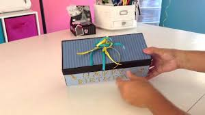 Shoe Box Decoration How to decorate an old shoe box YouTube 2