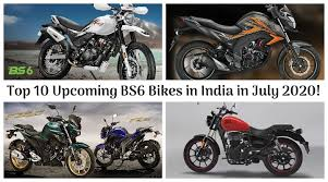 top 10 upcoming bs6 bikes in india in