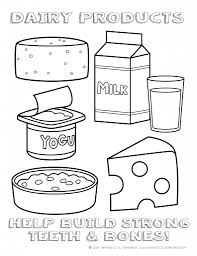 Bonanza Healthy Food Coloring Pages For Preschool Printable Eating ...