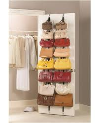 hanging door closet organizer. Awesome Shoe, Hat, And Purse Storage Ideas!! #tipit | Organizations, Organizing Hanging Door Closet Organizer
