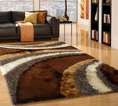 shag rugs. Brown \u0026 Silver Hand Made Shag Rug With Pad 5\u0027 X 7\u0027 Ft Rugs