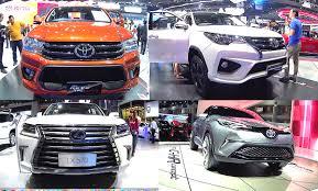 Top 5 large Toyota SUVs 2016, 2017: Hilux Revo, Fortuner, Land ...