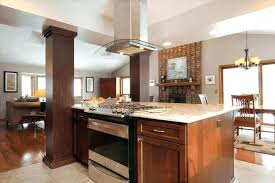 built in stove. Slide In Range Island Kitchen With Built Stove And Oven Design Sink Decor