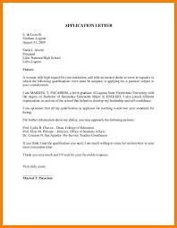 Student Affairs Cover Letter Sample Application Letter Sample For Fresh Graduate Joblettered