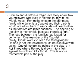 introduction to an essay of romeo and juliet introduction to romeo and juliet a shakespearean tragedy