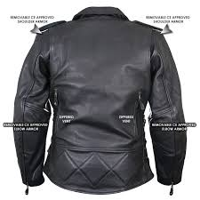 xelement b8301 classic women s black cowhide leather jacket leatherup com