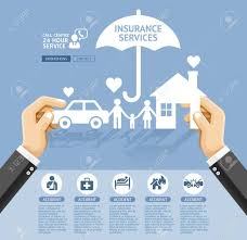 insurance policy services conceptual design hand holding a paper  insurance policy services conceptual design hand holding a paper home car family
