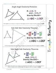 Triangle Proofs Similarity Proofs Math Similar Angles Proofs Similar