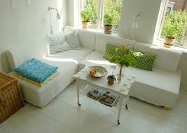 Trick Of The Trade Sectional Sofas In Small Spaces  Apartment Small Sectionals For Apartments