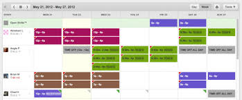 employee schedules templates employee scheduling software free mobile apps when i work
