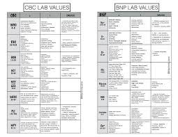 Cbc With Differential Chart Lab Values Printable Chart Bedowntowndaytona Com