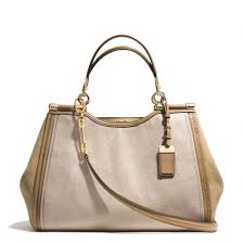 Lyst - Coach Madison Pinnacle Caroline Satchel In Stingray Embossed ...