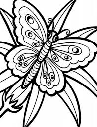 Happy Butterfly Color Sheet 58 #442