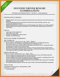 Cv For Driver Job 5 Curriculum Vitae For Driver Job Theorynpractice