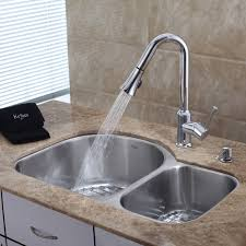 Kitchen Eager Purist Single Hole Kitchen Sink Faucet And Pullout