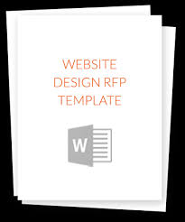 Get The Website Design Rfp Template |
