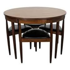 hans olsen teak roundette dining set mid century danish modern