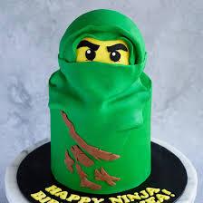Green Ninjago Cake 6