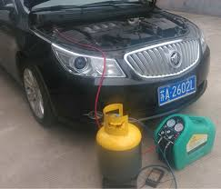 air conditioning recovery machine. cm car ac refrigerant recovery recycling machine gas air conditioning