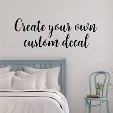 create your own wall stickers uk make