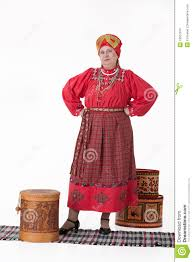 w in russian traditional clothing stock photo image 13561910 w in russian traditional clothing