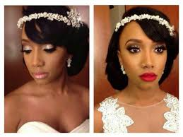 white black and gold wedding make up ceremony make up and reception make up african american bride ceremony bridal makeup african