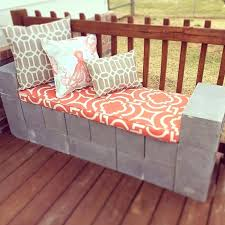 cinder block furniture. Concrete Blocks Garden Cinder Block Furniture Wall