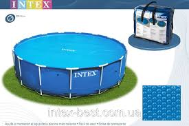 <b>Тент</b> для бассейна с эффектом антиохлаждение <b>Intex 29024</b> ...