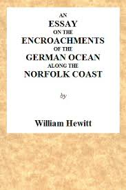 Hingham Tide Chart An Essay On The Encroachments Of The German Ocean Along The