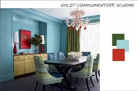 Split Complementary Color Scheme Room - Home Design