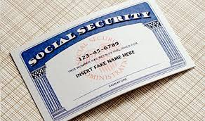 For Fake Sale Social Card Security Ssn Number