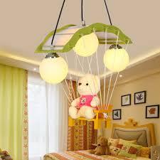lighting for baby room. kindergarten children chandelier decorative lamp teddy bear cartoon boys and girls baby room bedroom lighting lamps for