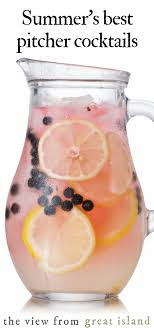 For more boozy summer ideas, check out our favorite vodka drinks. Summer S Best Pitcher Cocktails The View From Great Island
