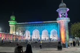 photo essay prophet s birthday in hyderabad beyond my  mecca masjid hyderabad