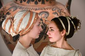 Ancient Roman Hair Style 2 grecian crosstied hairstyles for women youtube 6804 by wearticles.com