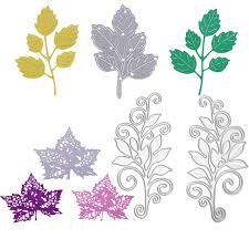 christmas card stencils leaf metal cutting dies stencils scrapbooking embossing dies diy